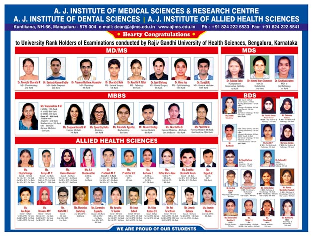AJ INSTITUTE OF MEDICAL SCIENCES AND RESEARCH CENTRE